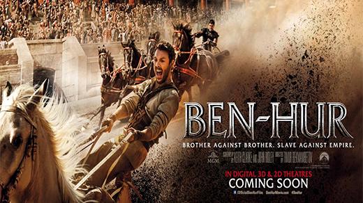 Bild för Ben Hur 3D  (11 år), 2016-09-05, Biosalongen Folkets Hus