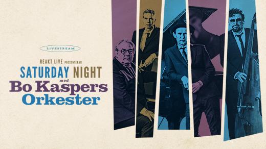 Bild för SATURDAY NIGHT med BO KASPERS ORKESTER -LIVESTREAM, 2021-05-22, ShowticTV