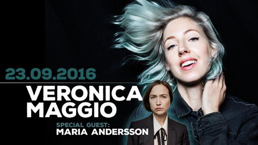 Bild för Veronica Maggio + Maria Andersson, 2016-09-23, Nöjesfabriken