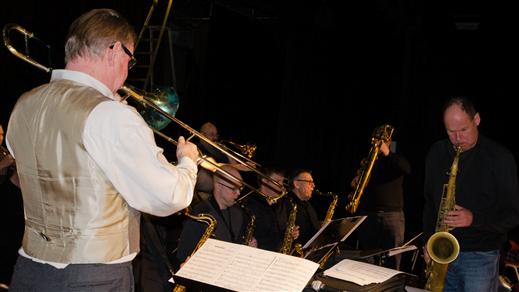 Bild för Uffe, Jonte och Uppland Big Band, 2018-03-25, Nannaskolans aula