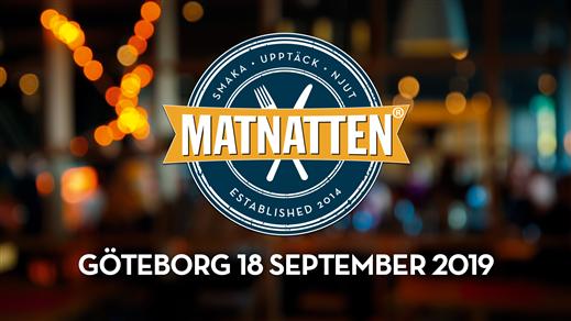 Bild för Matnatten GÖTEBORG 18 september 2019, 2019-09-18, Sverige