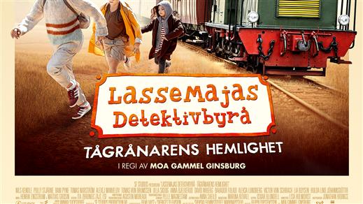 Bild för LasseMajas Detektivbyrå - Tågrånarens hemlighet, 2020-02-16, Bräcke Folkets hus