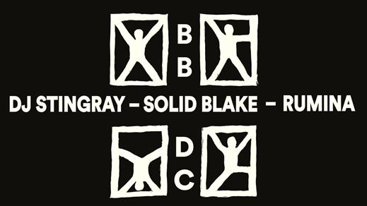 Bild för Black Box Disco Club: DJ Stingray, Solid Blake, 2019-10-05, Inkonst