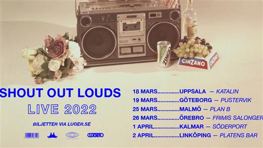 Bild för Shout Out Louds, 2022-03-26, Frimis Salonger Örebro