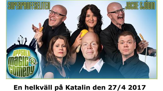 Bild för SuperProffsEliten & Jacke Sjödin, 2017-04-27, Katalin, Uppsala