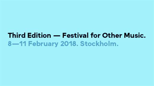 Bild för Third Edition Festival: Tomoko Sauvage på Weld, 2018-02-10, Weld