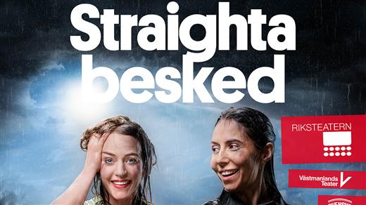 Bild för Straighta besked, 2021-10-21, Årsta Folkets Hus Teater