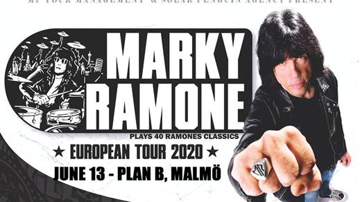 Bild för Marky Ramone (US) // Live at Plan B, 2021-06-12, Plan B - Malmö
