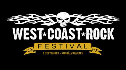 Bild för West Coast Rock Festival, 2017-09-09, Kungälvs Parken