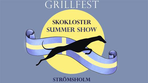 Bild för Grillfest Skokloster Summer Show, 2017-07-29, Vinthundutställning vid Strömsholms Slott