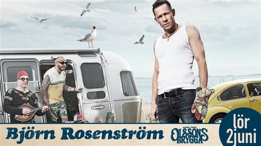 Bild för Björn Rosenström, 2018-06-02, Olssons Brygga