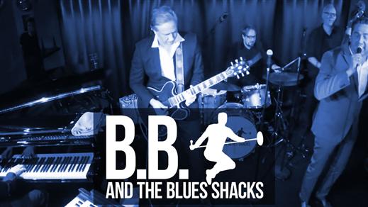 Bild för B.B. & The Blues Shacks, BLUESKVÄLL!, 2019-04-27, Bryggeriet, Kattastrand