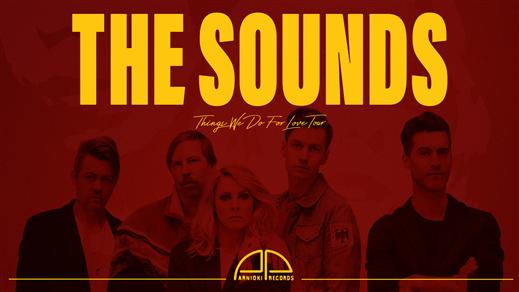 Bild för The Sounds + support - The Crypt, Linköping, 2021-12-11, The Crypt LKPG