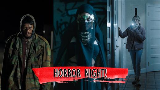 Bild för Horror Night 2021, 2021-10-02, Zita Folkets Bio, Stockholm