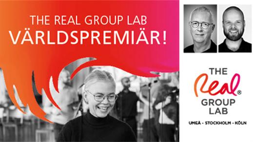 Bild för THE REAL GROUP LAB - Världspremiär! 25/1, 2020-01-25, Tonsalen, Umeå Folkets Hus