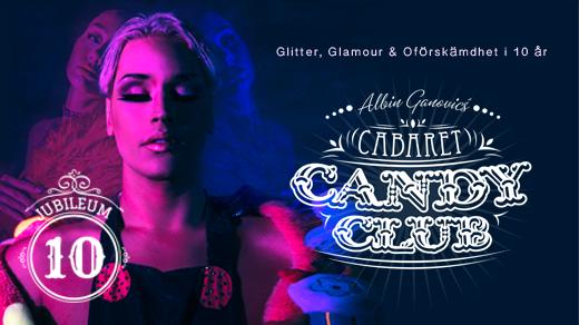 Bild för Cabaret Candy Club 10 år, 2019-11-07, Radisson Blu Helsingborg