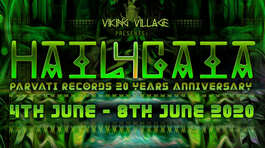 Bild för Hail4Gaia Parvati Records 20 Years Anniversary, 2021-05-27, VikingVillage