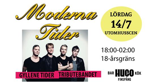 Bild för Moderna Tider - 14/7 - Utomhusscen, 2018-07-14, Hugo Finspång