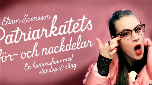 Bild för En s(c)en torsdag med komiker Elinor Svensson, 2018-10-18, Nordiska Akvarellmuseet