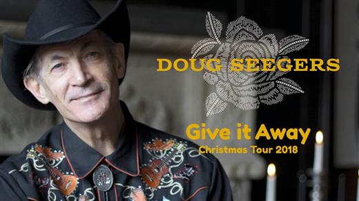 Bild för Doug Seegers - Give It Away Christmas Tour 2018, 2018-11-25, Immanuelskyrkan