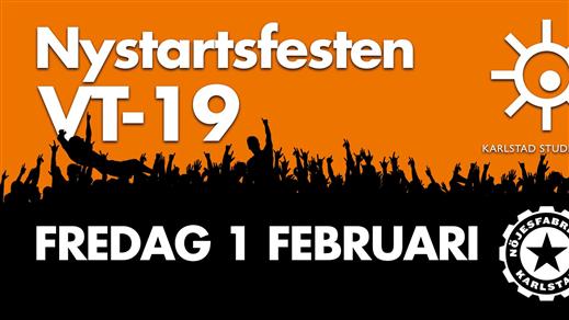 Bild för Nystartsfesten 2019, 2019-02-01, Nöjesfabriken