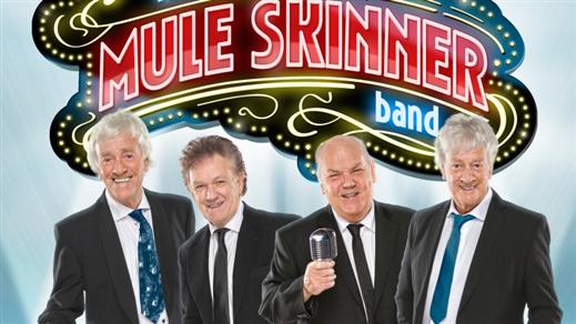 Bild för Mule Skinner Band (Streaplers Legenderna), 2018-10-19, Pingstkyrkan i Örnsköldsvik