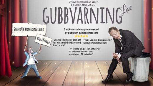 Bild för Lennie Norman - Gubbvarning, 2021-04-16, Hjalmar Bergman Teatern