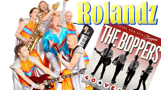 Bild för Rolandz + The Boppers, 2018-08-11, Tivoliparken