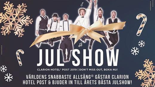 Bild för Julbord med Show - Clarion Hotel Post, 2019-11-30, Clarion Hotel Post