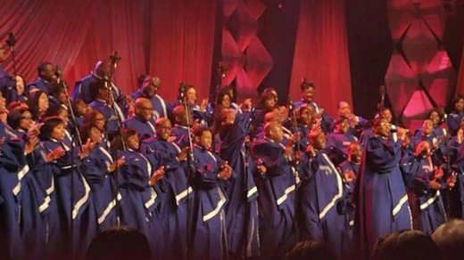 Bild för Chicago Mass Choir + Tensta Gospel Choir, 2018-09-28, UKK - Stora salen