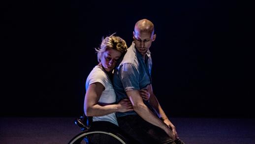 Bild för Tre duetter - Skånes Dansteater och Spinn, 2018-03-23, 3:e Våningen