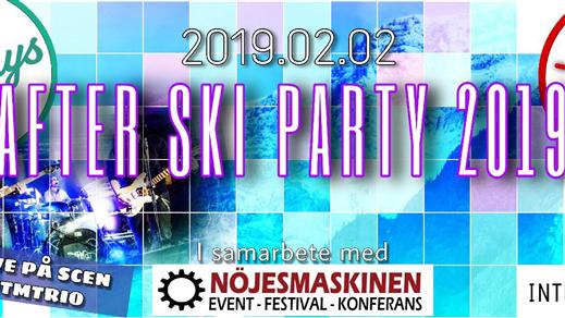 Bild för Afterski Party 2019 Nattklubb + 23, 2019-02-02, Olearys Nightclub