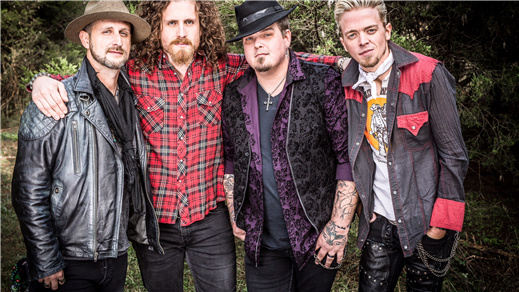 Bild för Black Stone Cherry + Support: Monster Truck, 2018-11-15, Pustervik