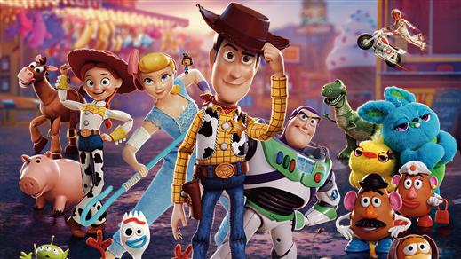 Bild för Toy Story 4 15:00, 2019-10-30, Estrad