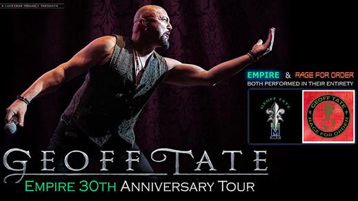 Bild för Geoff Tate - Empire 30TH Anniversary TOUR, 2020-01-17, Valand