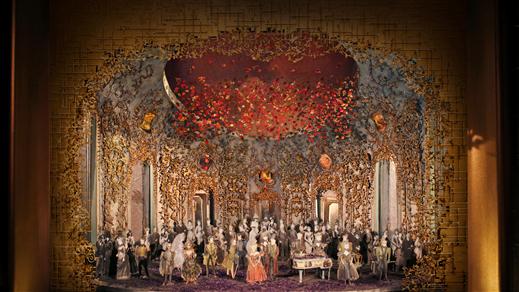 Bild för La Traviata från Metropolitan, 2018-12-18, Landskrona Teater