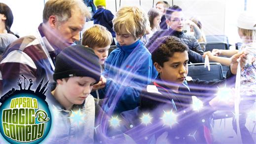 Bild för Uppsala Magic & Comedy: Magikurs för barn 11:00, 2019-05-04, Konferensrum K4
