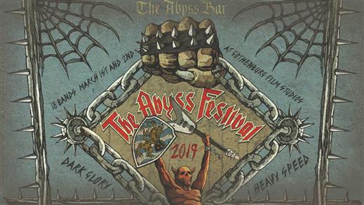 Bild för The Abyss Festival (Heavy XMas Deal), 2019-03-01, Gothenburg Film Studios