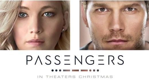 Bild för Passengers (Sal2 11år Kl.20:45 1t56m), 2016-12-30, Saga Salong 2
