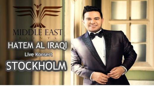Bild för HATEM AL IRAQI Live konsert i STOCKHOLM, 2018-11-10, Cristal Festvåning