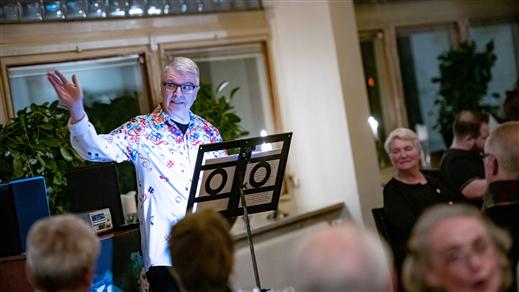 Bild för Inspirationskväll med Lasse Walldov, 2021-11-08, Restaurangscenen