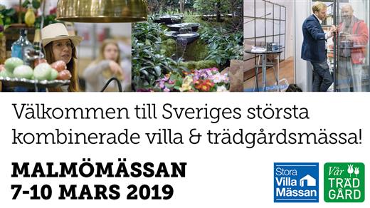 Bild för Stora Villamässan & Vår Trädgård Malmö 2019, 2019-03-07, Malmömässan