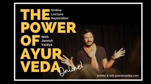 Bild för Lecture with Janesh Vaidya - Online, 2020-09-01, Online