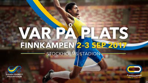 Bild för Finnkampen 2-3 september 2017, 2017-09-02, Stockholms Stadion