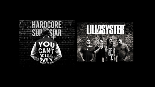 Bild för Hardcore Superstar och Lillasyster, 2018-05-12, Halmstad Live
