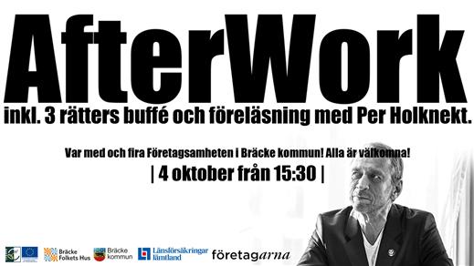 Bild för After Work med företagarna inkl föreläsning, 2019-10-04, Bräcke Folkets hus