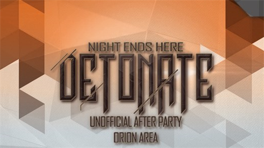 Bild för Detonate x Night Ends Here x Unofficial Afterparty, 2017-06-02, Brewhouse Arena