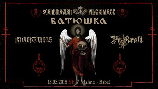 Bild för Batushka, Mortuus och Pestkraft i Malmö, 2018-05-13, Babel