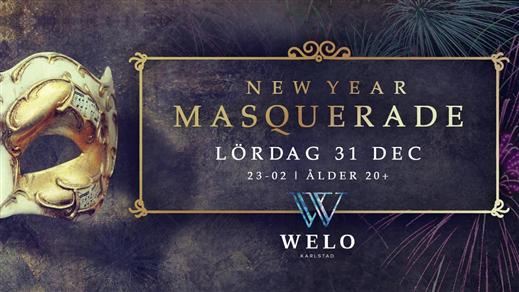 Bild för New Year Masquerade, 2016-12-31, WELO