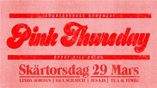 Bild för Pink Thursday, 2018-03-29, Babel